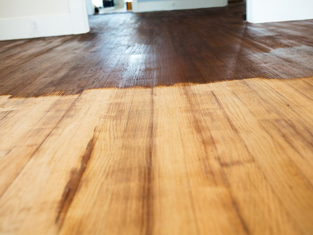 When should you refinish your hardwood floors?